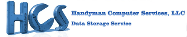 Handyman Computer Services, LLC Data Storage Service